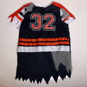 Halloween Horror Jagged Distressed Jersey Dress 10